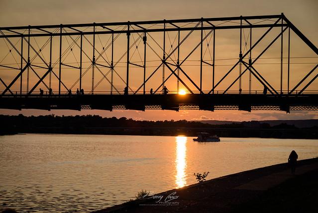 Walnut Street Bridge, Nikon D750, Sigma 24-105mm F4 DG OS HSM