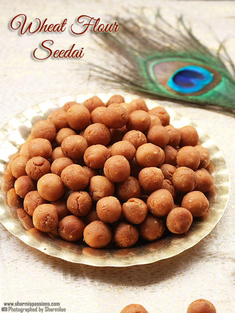 wheat flour seedai recipe