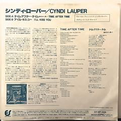CYNDI LAUPER:TIME AFTER TIME(JACKET B)
