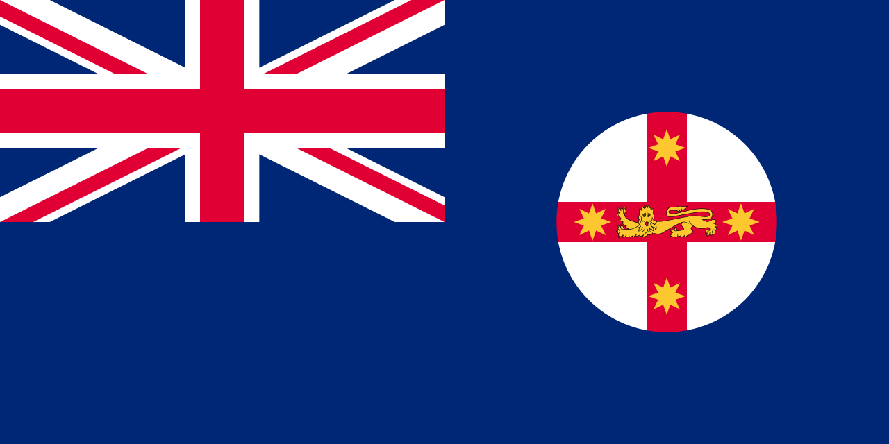 New South Wales Flag 1876-1900