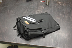 rolltop backpack size M