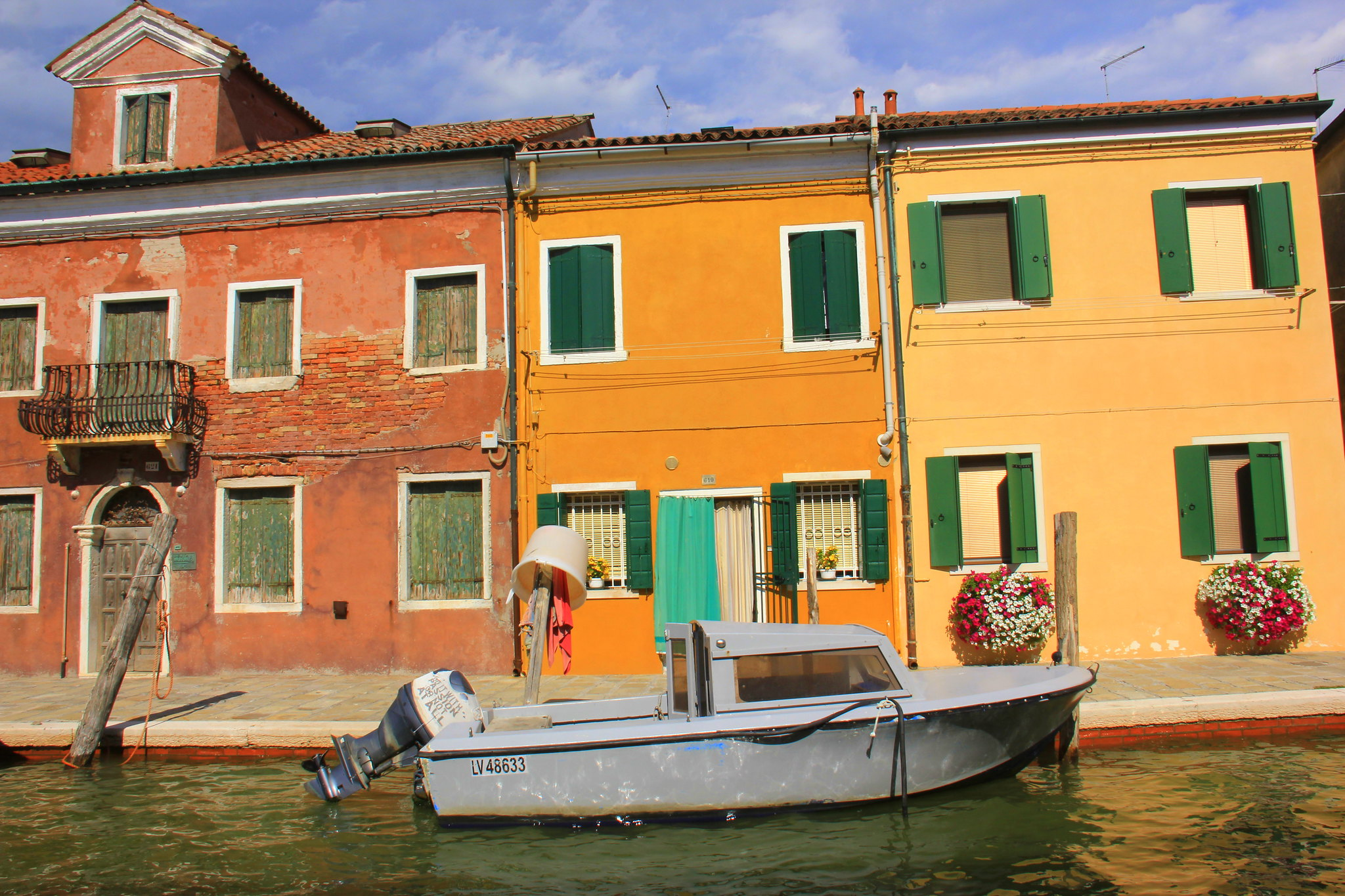 The beautiful Burano island