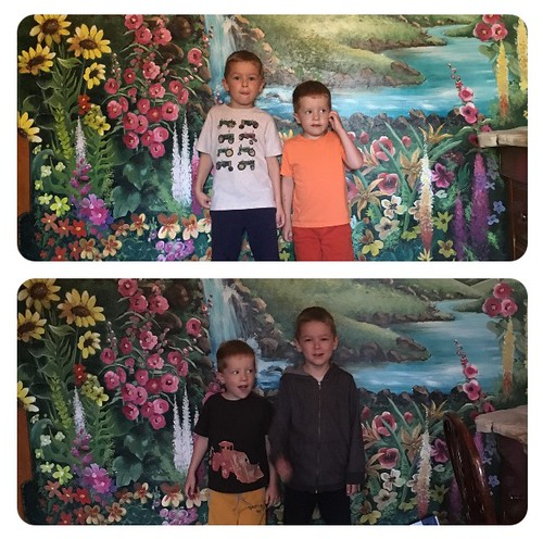 Kids at Madonna Inn, 2016 and 2017