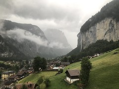 Leaving the Alps