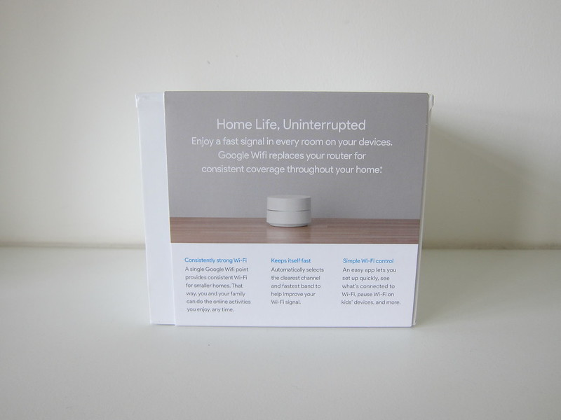 Google Wifi - Box Back