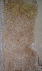 wall painting: St Thomas of Canterbury?