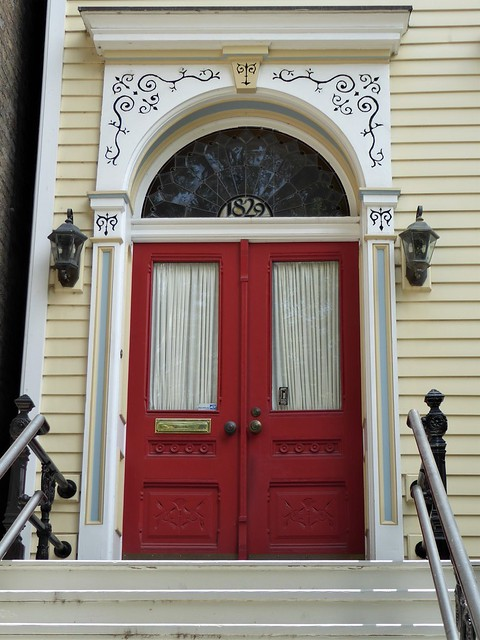 Chicago, Old Town Triangle, Residence Entrance