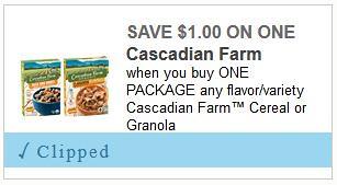 Cascadian Farm Organic Cereal