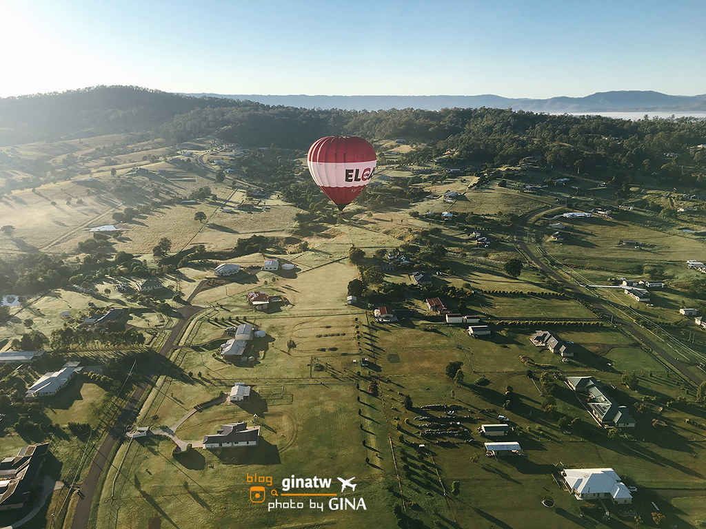 【黃金海岸熱氣球體驗】2020澳洲超美必玩景點| Gold Coast|Hot Air Balloon|人生必搭一次,雲層超級無敵美,早晨搭熱氣球看日出去! @GINA環球旅行生活