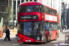 Wrightbus NRM NBFL - LTZ 1044 - LT44 - Fulham Broadway 11 - Go Ahead London - London 2017 - Steven Gray - IMG_6657