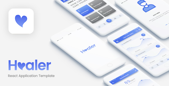 Healer – React Native App (Android/iOS)