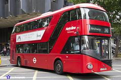 Wrightbus NRM NBFL - LTZ 1096 - LT96 - Archway 390 - Metroline - London 2017 - Steven Gray - IMG_1321