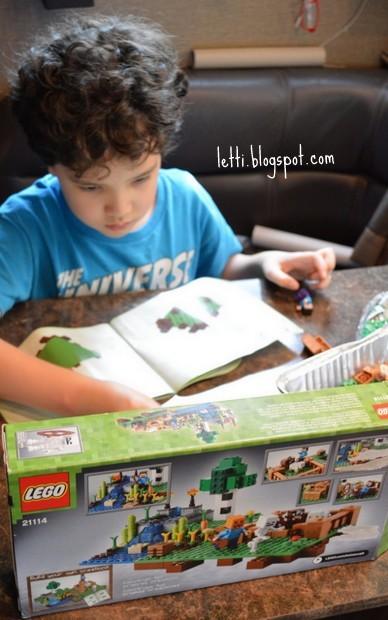 August 26 Lego Minecraft