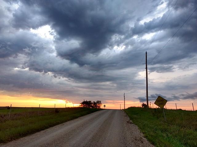 What I always imagined Kansas should look like #kansas #eclipse #roadtrip #stormy #wizardofoz #eclipse2017