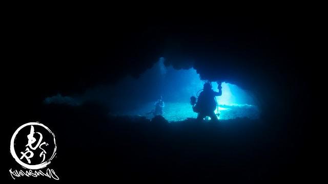 洞窟キレイでした♪