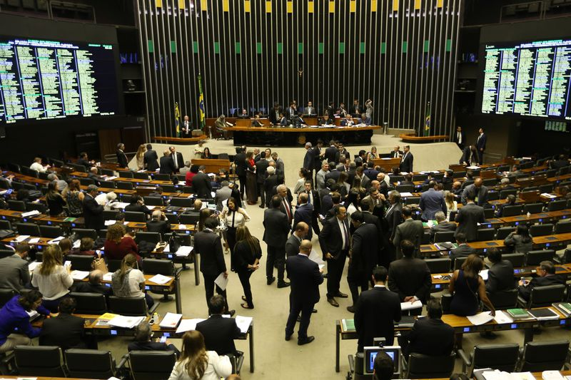 Câmara dos Deputados aprova fim das coligações só a partir de 2020, Plenário da Câmara dos Deputados