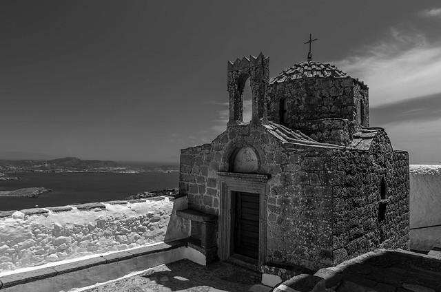 old church, Patmos. Greece, Nikon D5100, AF-S DX VR Zoom-Nikkor 16-85mm f/3.5-5.6G ED