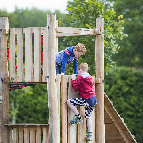 frankfullard fullard children climbers climbing play red blue height timber wooden child grandchildren family happy playing learning athletic conor eamonn