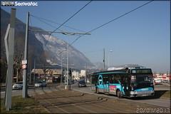 Irisbus Agora S GNV - Sémitag (Société d'Économie MIxte des Transports publics de l'Agglomération Grenobloise) / TAG (Transports de l'Agglomération Grenobloise) n°3019
