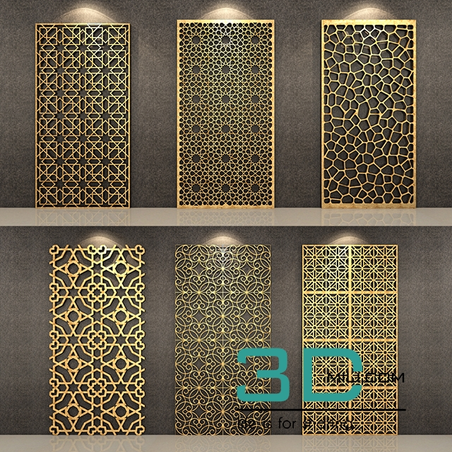 Pattern pannels 3d mili download 3d model free 3d for Mobel 3d download
