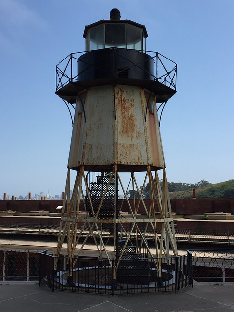 Fort Point light tower