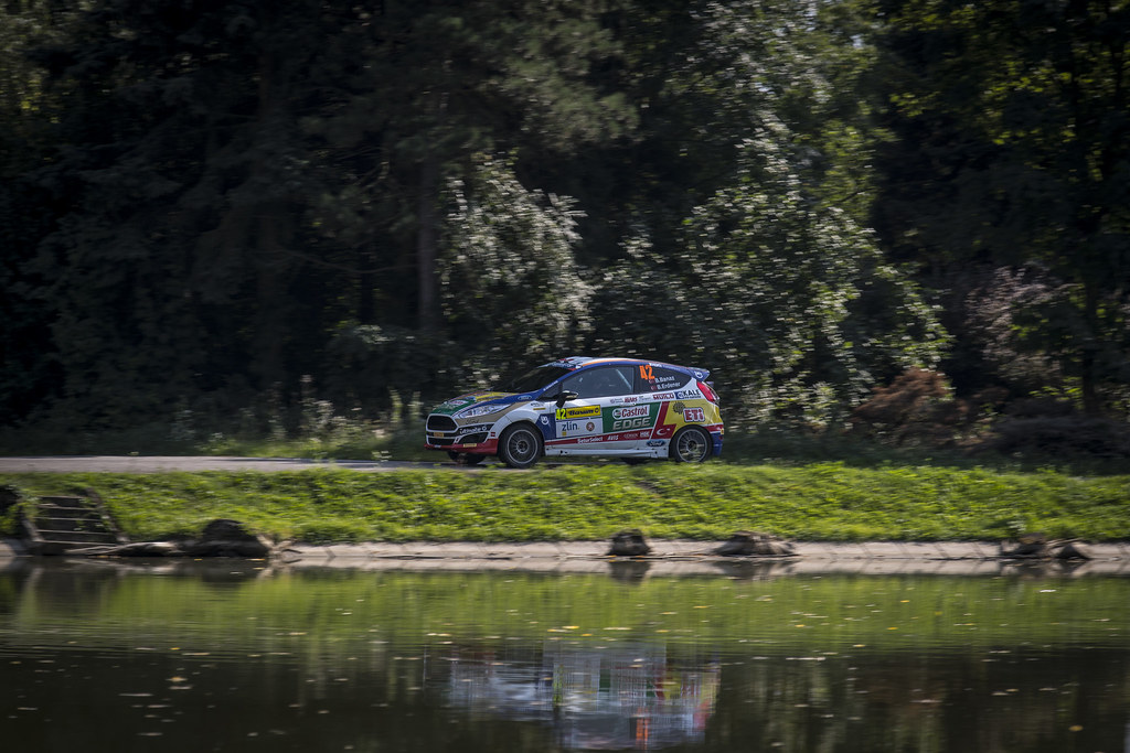 42 BANAZ Bugra (TUR) ERDENER Burak (TUR) Ford Fiesta R2 action during the 2017 European Rally Championship ERC Barum rally,  from August 25 to 27, at Zlin, Czech Republic - Photo Gregory Lenormand / DPPI