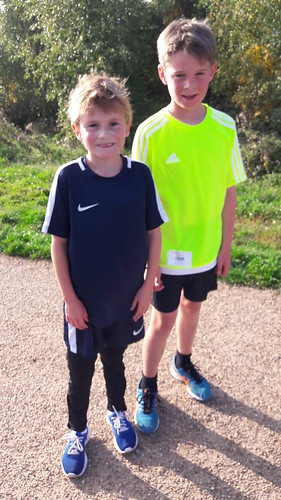 Gedling junior parkrun 24th sept 2017