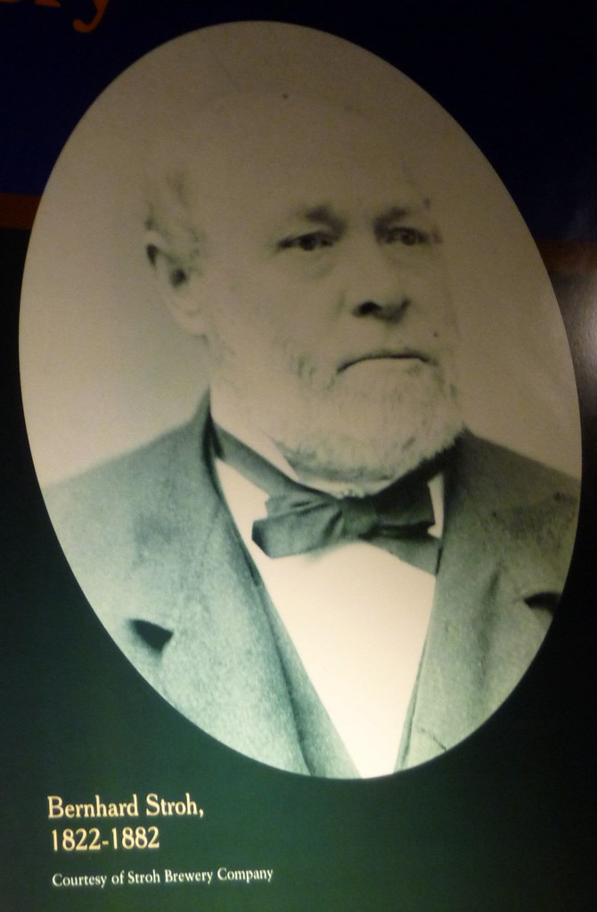 1882: Founder of Stroh's Beer Dies