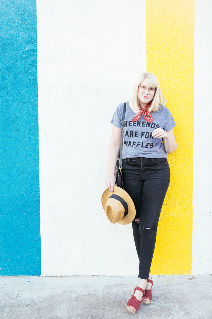 austin fashion blogger writes like a girl weekends are for waffles shirt10