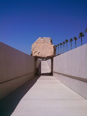 Levitated Mass at LACMA