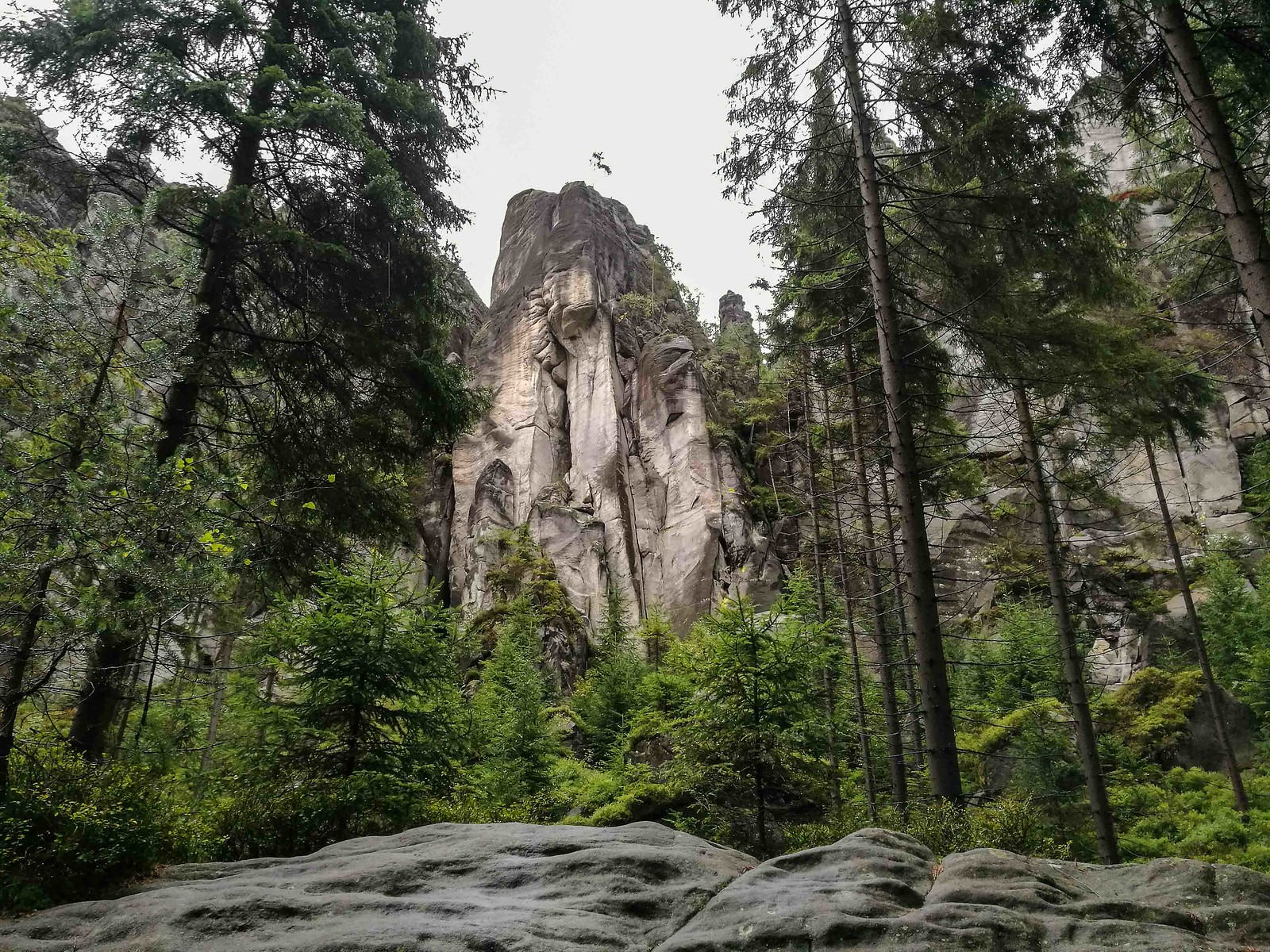 Natural wonders in the Czech Republic: Adrspach-Teplice Rock Towns