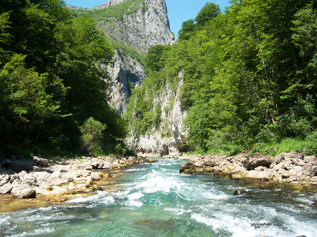 Our rafting tour on Neretva river
