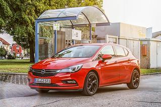 Neuer Opel Astra mit Erdgasantrieb