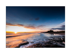Sunrise at Bamburgh Castle - Explore 01.09.2017 - No.33