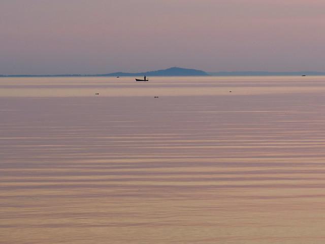 Sunset at Lake Balaton, Balaton Uplands National Park, Hungary