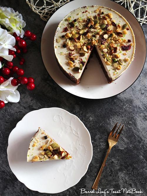 全素雙層黑白巧克力榛果派 vegan-double-chocolate-hazelnut-layered-pie (9)