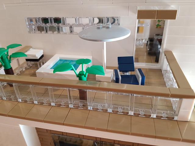 Whitebrick Sand House MOC roof terrace [WIP] III