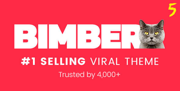 Bimber v5.0 - Viral Magazine WordPress Theme