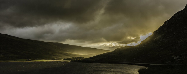 First light of the day on Ogwen