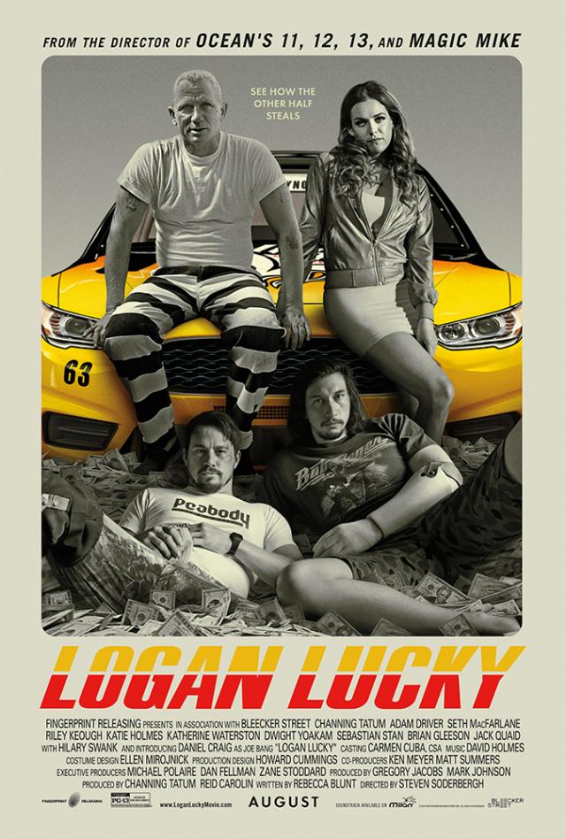Vụ Trộm May Rủi - Logan Lucky (2017)