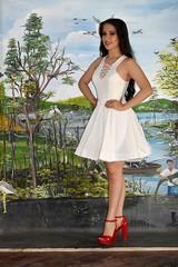Nathaly Zambrano, Srta. Fundación 2017