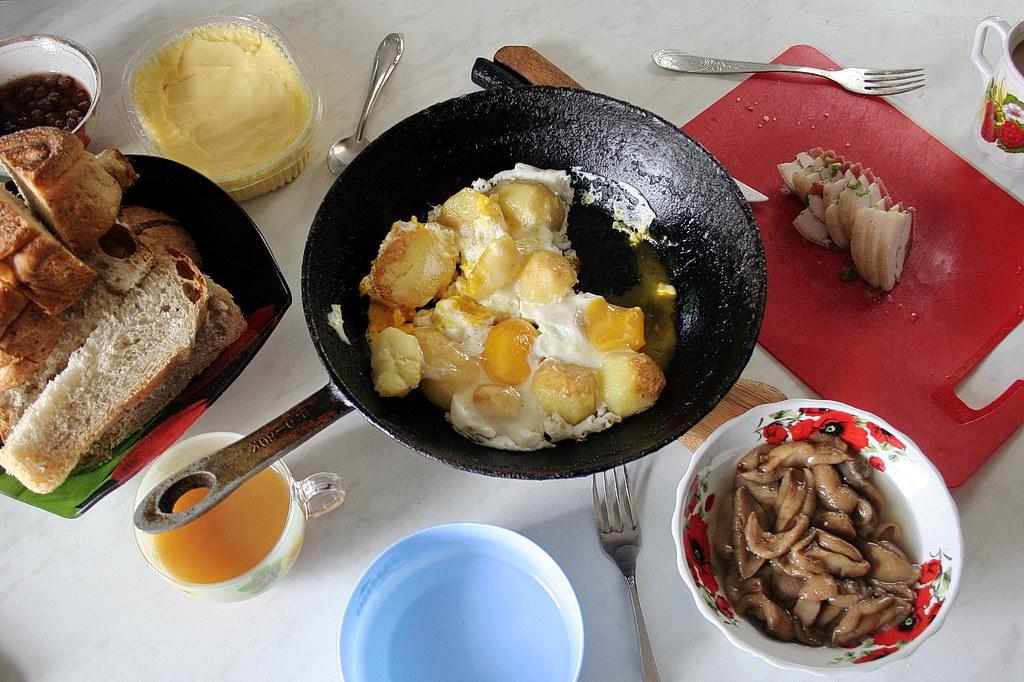 Siberian breakfast