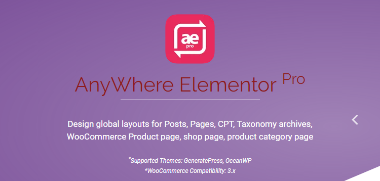 AnyWhere Elementor Pro v2.4.2 – Global Post Layouts