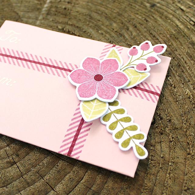 Floral Gift Card Holder 3