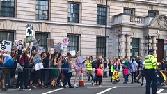 Animal Rights March - Whitehall, London