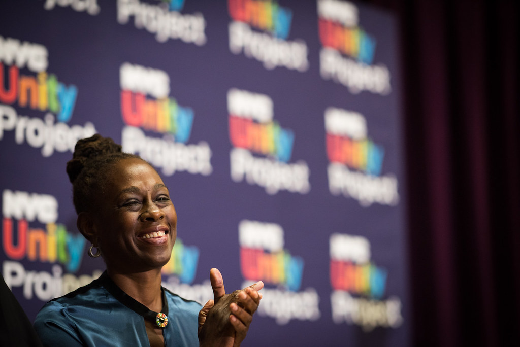 ... First Lady Chirlane McCray announces the NYC Unity Project as a  citywide initiative to support LGBTQ