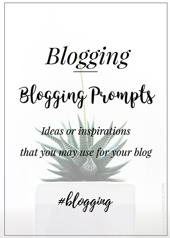 Blogging Prompts