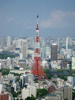 六本木ヒルズから(ワンピース展)05 東京タワー