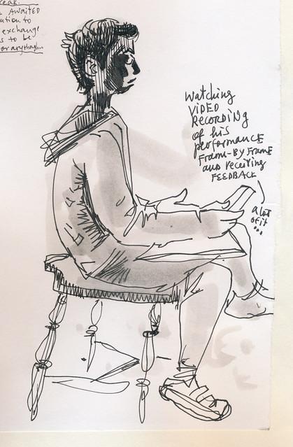 Sketchbook #107: Cello