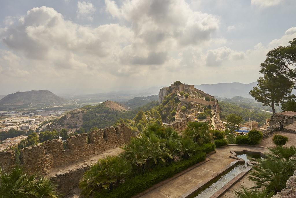 Xativa castle Spain